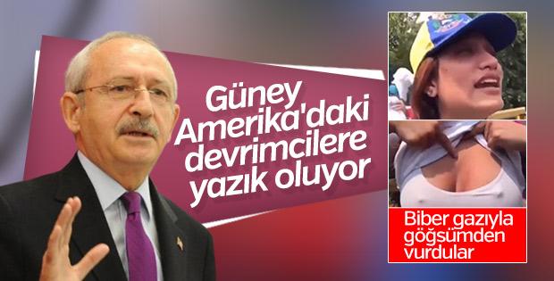 Kılıçdaroğlu'nun Venezuela yorumu