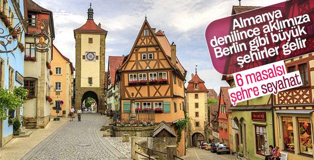 Almanya'nın şirin kasabaları
