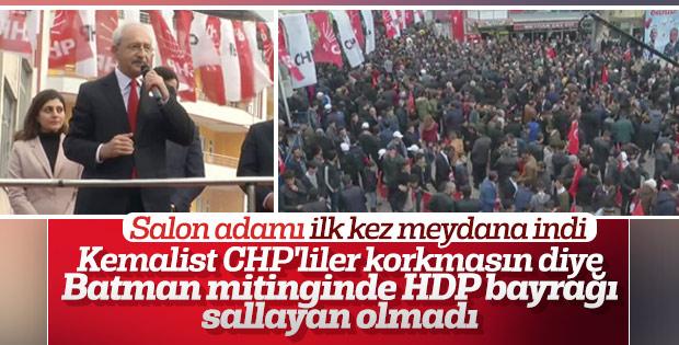 Kemal Kılıçdaroğlu, ilk mitingini Batman'da yaptı