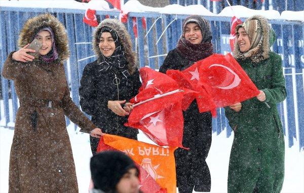 Cumhurbaşkanı Erdoğan´ın Erzurum mitingi