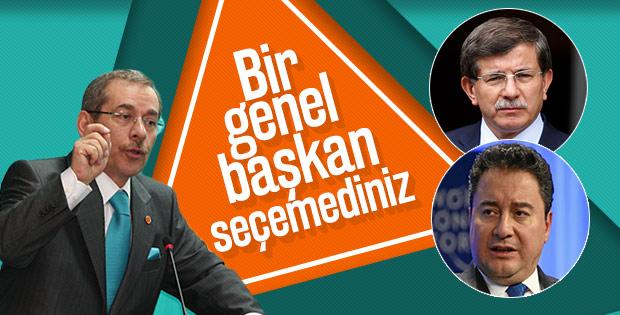 Abdüllatif Şener: Davutoğlu ile Gül anlaşamadı
