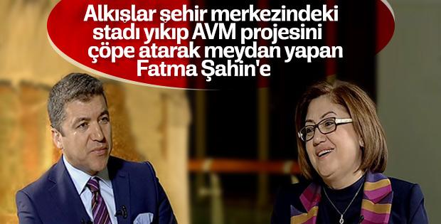 Gaziantep Fatma Şahin ile değişmeye devam ediyor