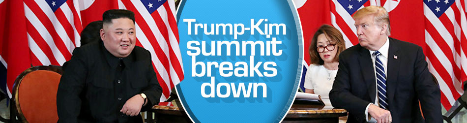 Trump scraps North Korea summit deal