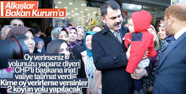 Bakan Kurum'dan Hatay Büyükşehir Belediye Başkanı'na eleştiri