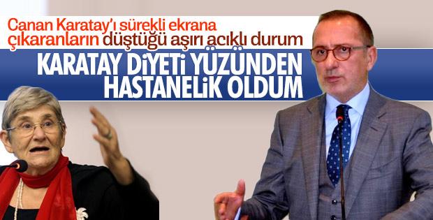 Fatih Altaylı'dan anjiyo sonrası Canan Karatay'a suçlama