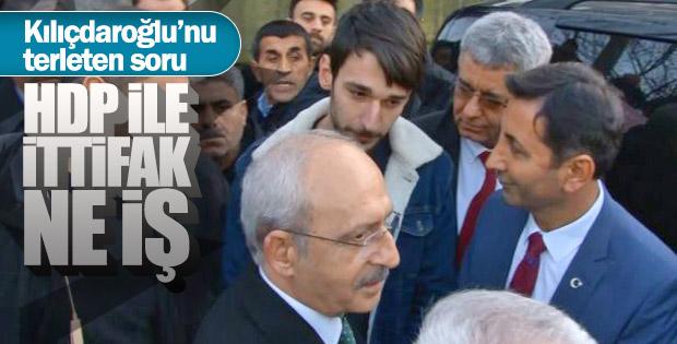 Kılıçdaroğlu'nun HDP cevabı tatmin etmedi