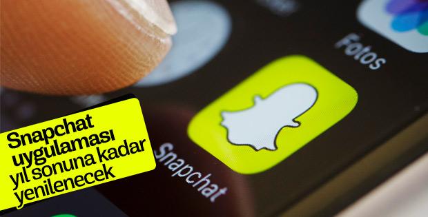 Snapchat, bu yılın sonuna kadar uygulamayı yenileyecek