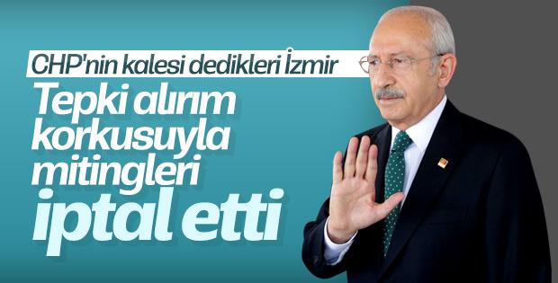Kılıçdaroğlu İzmir mitinglerini iptal etti