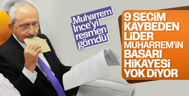 Kılıçdaroğlu: Muharrem İnce'nin başarı hikayesi yok
