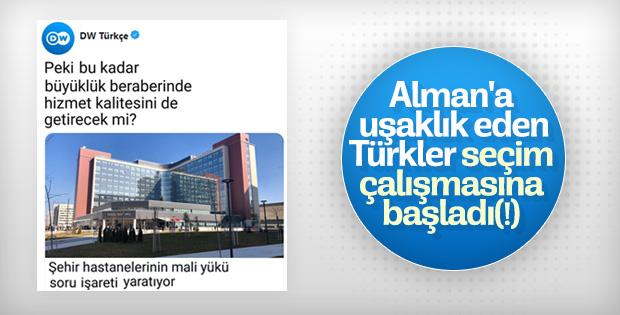 Şehir hastaneleri Alman ajansın hedefinde