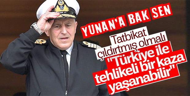 Yunan Bakan Türkiye'yi tehdit etmeye kalktı