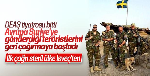 İsveç Başbakanı, vatandaşı olan teröristleri çağırıyor