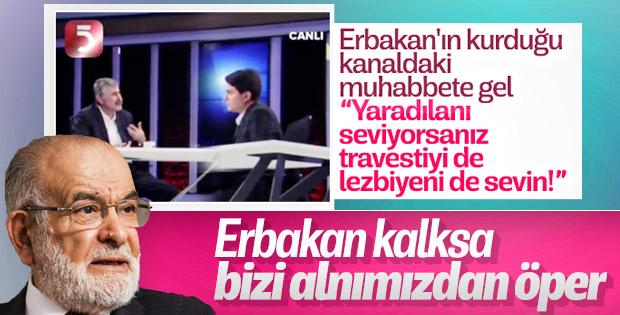 Temel Karamollaoğlu: Erbakan Hoca kalksa alnımızdan öper