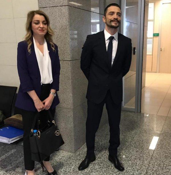 Ahmet Kural ve Sıla adliyede