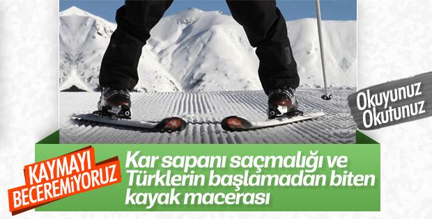 Kayak nasıl yapılır? Kar sapanı nedir? Yeni başlayanlar için kayak