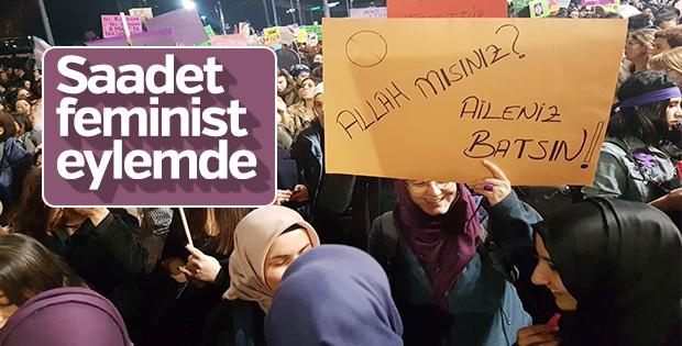 Taksim'de 8 Mart eylemleri