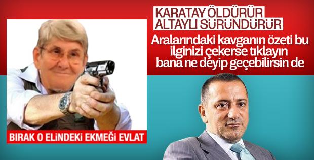 Canan Karatay Fatih Altaylı'ya cevap verdi