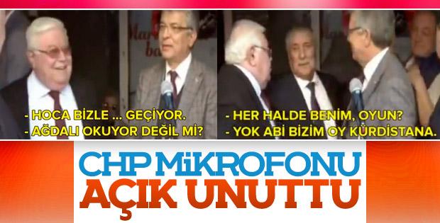 Mikrofon açık unutuldu: CHP'liler müezzine hakaret etti