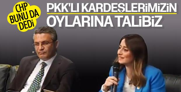 CHP'li vekil PKK'lıların oylarına talip oldu