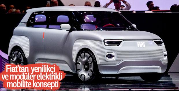 Fiat, Concept Centoventi konsepti otomobiliyle Cenevre'deydi