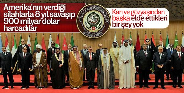 Arap ülkeleri savaşlara 900 milyar dolar harcadı