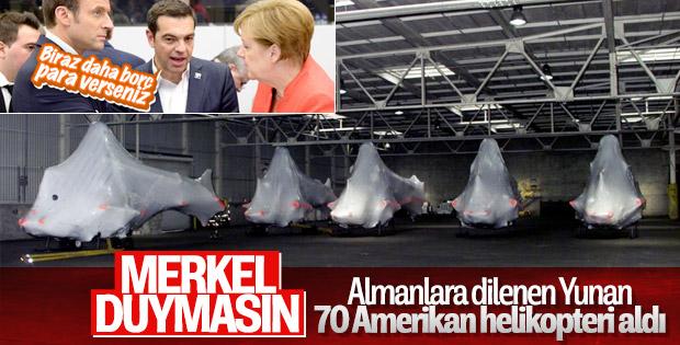 ABD'den Yunan ordusuna 70 yeni helikopter