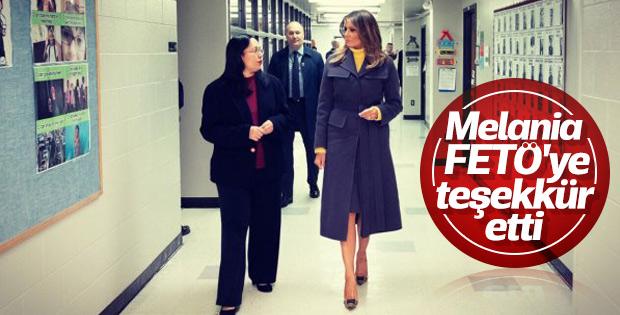 Melania Trump FETÖ okulunu övdü