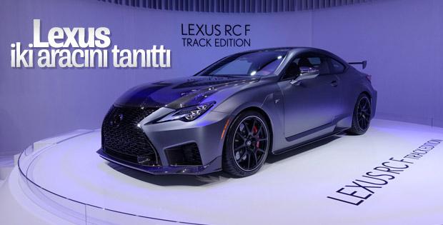 Lexus iki aracın prömiyerini yaptı