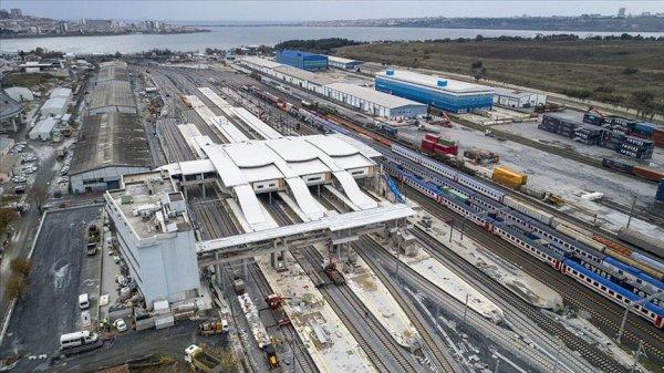 Gebze-Halkalı demir yolu hattı açılıyor