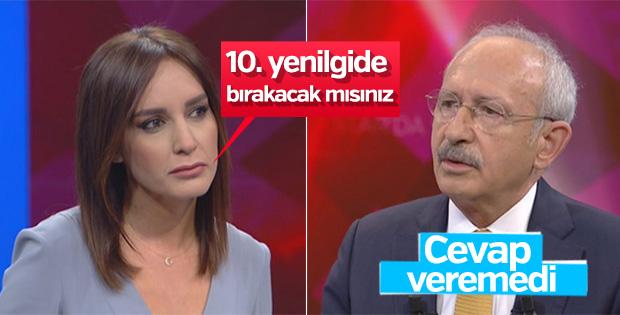 Kemal Kılıçdaroğlu'ndan istifa sorusuna kaçamak yanıt
