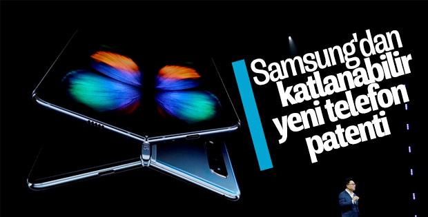 Samsung'un katlanabilir yeni telefon patenti ortaya çıktı