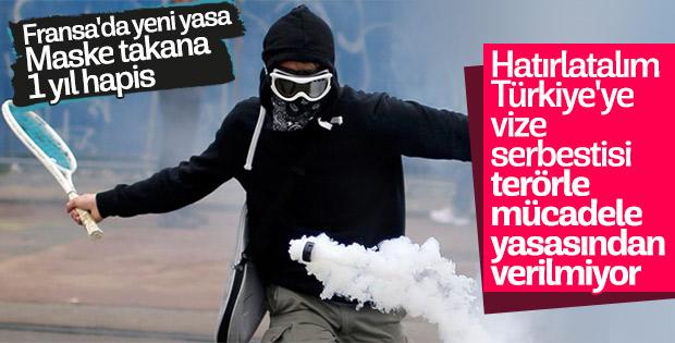 Fransa'da eylemcilere sert ceza öngören yasa onaylandı