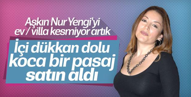 Gayrimenkul zengini Aşkın Nur Yengi'den yeni yatırım