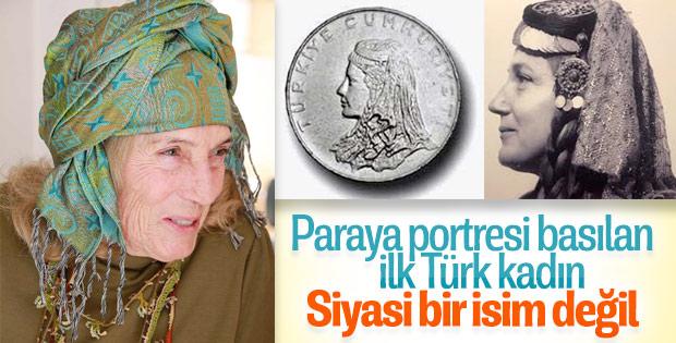 Paraya resmi basılan ilk Türk kadını