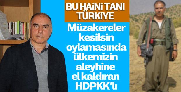 HDP'li Eyüp Doru AP'de Türkiye aleyhinde oy verdi