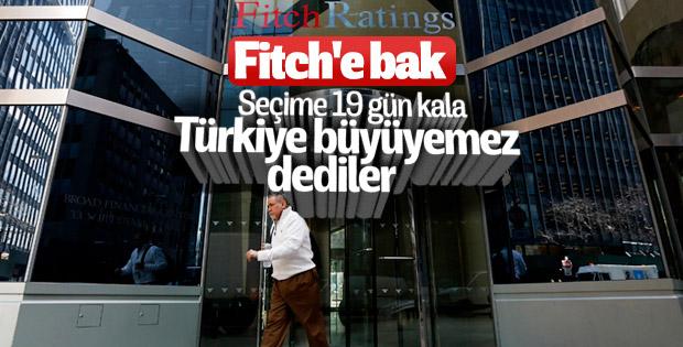 Fitch Türkiye'nin büyüme rakamlarını düşürdü