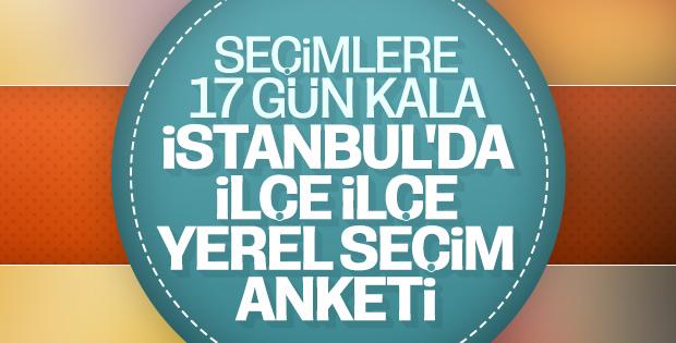 ORC'nin İstanbul ilçeleri seçim tahmini