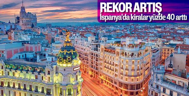 İspanya'daki yeni sorun: Kira artışı
