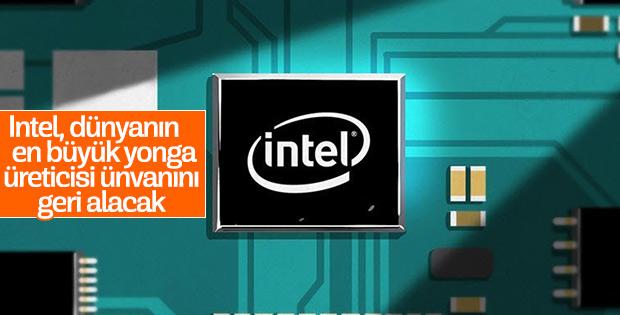 Intel, Samsung'a kaptırdığı liderliği geri alacak