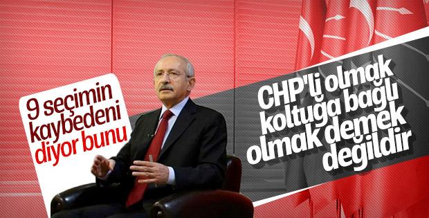 Kılıçdaroğlu CHP'li olmanın tanımını yaptı