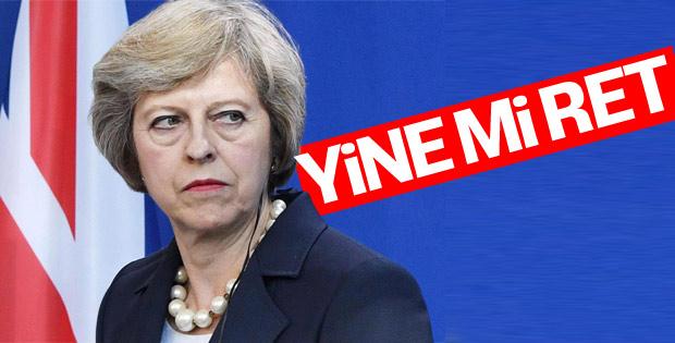 İngiltere Parlamentosu Brexit referandumunu reddetti