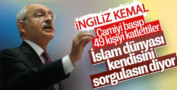 Kemal Kılıçdaroğlu, Yeni Zelanda saldırısını yorumladı