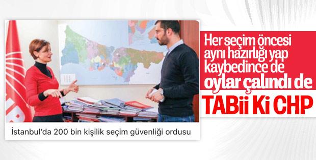 CHP, İstanbul'da 200 bin kişiyle seçime gidecek