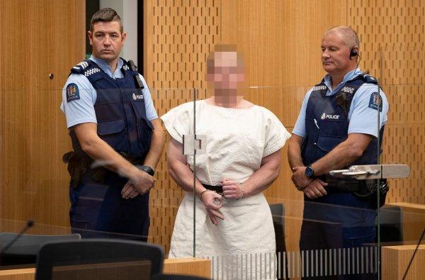 Yeni Zelanda teröristi 5 Nisan'a kadar gözaltında
