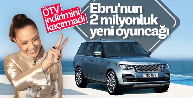 Ebru Gündeş lüks araç satın aldı