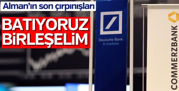 Deutsche Bank-Commerzbank birleşme görüşmeleri başlıyor