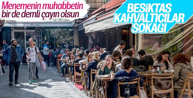 Kahvaltıcılar, hafta içi de hafta sonu da Beşiktaş'ta