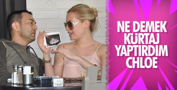 Chloe, Serdar Ortaç'tan bebek aldırdı