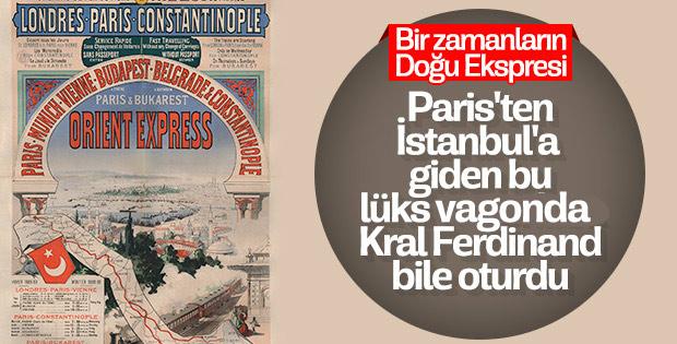 Paris'ten İstanbul'a yolcu kalmasın: Şark Ekspresi