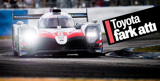 Toyota üçüncü zaferini elde etti